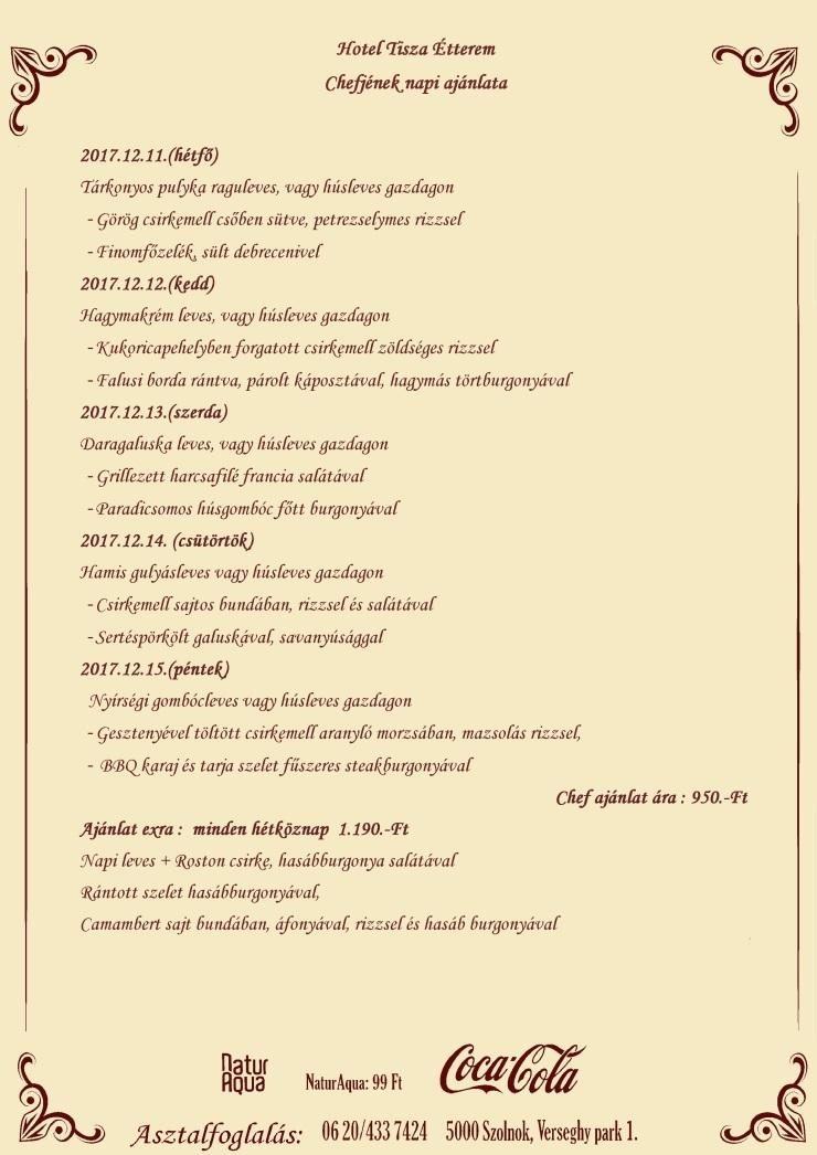 Napiajánlata (12.11.)