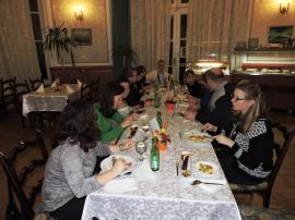 074- Vacsora a szállóvendégek részére